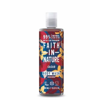 Faith in Nature přírodní sprchový gel BIO Kakao 400ml