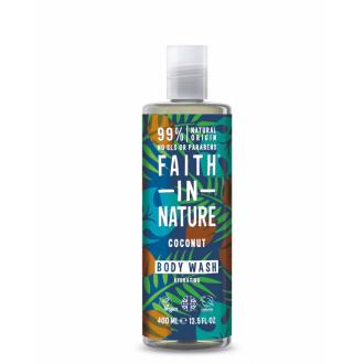 Faith in Nature přírodní sprchový gel BIO Kokos 400ml