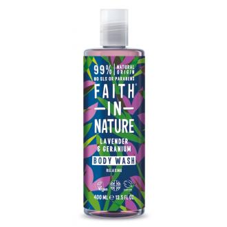 Faith in Nature přírodní sprchový gel Levandule 400ml