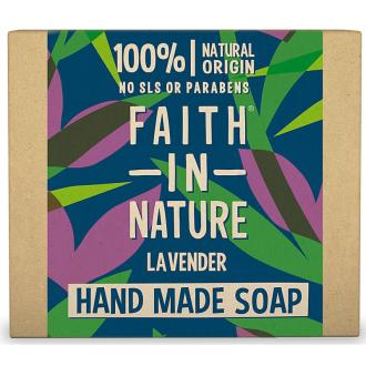 Faith in Nature rostlinné tuhé mýdlo s levandulí