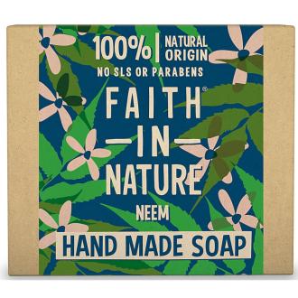 Faith in Nature rostlinné tuhé mýdlo s Neem