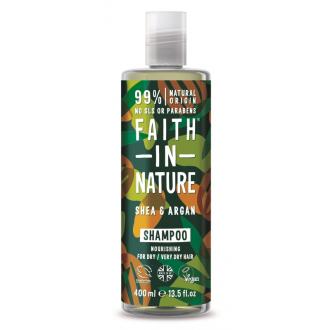 Faith in Nature přírodní šampon argan a bambucké máslo