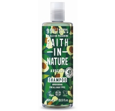 Faith in Nature šampon s avokádovým olejem 400ml