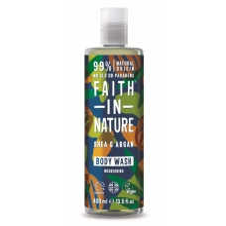 Faith in Nature přírodní sprchový gel argan a bambucké máslo