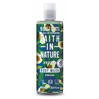 Faith in Nature sprchový gel s avokádovým olejem 400ml