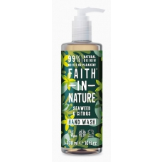 Faith in Nature antibakteriální tekuté mýdlo Mořská řasa&Citrus 300ml + 100ml zdarma