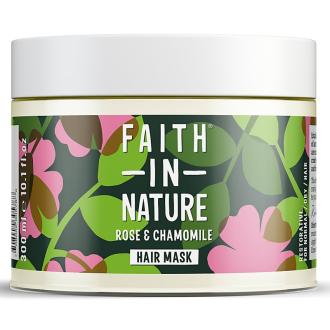 Faith in Nature vlasová maska  růže a heřmánek 300ml