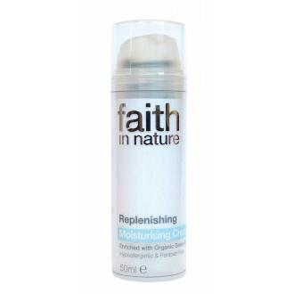Faith in Nature přírodní krém proti vráskám HA (hypoalergenní) BIO 50g