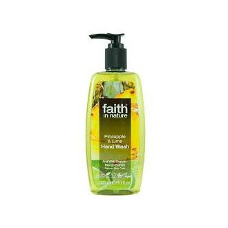 Faith in Nature přírodní tekuté mýdlo Ananas&Limeta 300ml