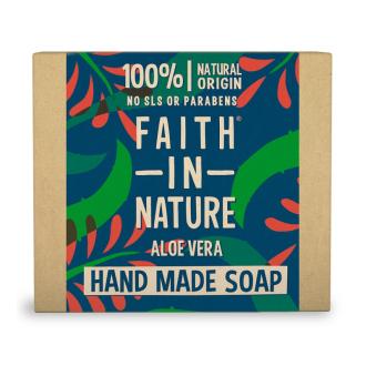 Faith in Nature rostlinné tuhé mýdlo s pravým Aloe Vera