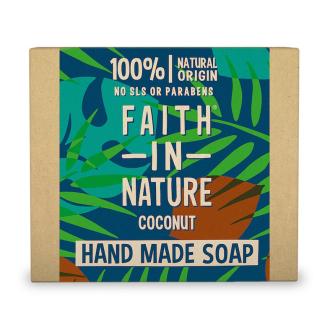 Faith in Nature rostlinné tuhé mýdlo s kokosovým olejem