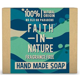 Faith in Nature rostlinné tuhé mýdlo s mořskou řasou