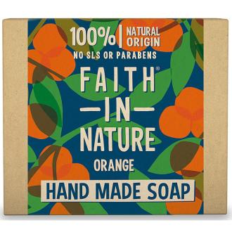 Faith in Nature rostlinné tuhé mýdlo - pomeranč