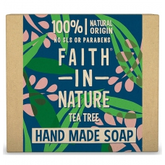 Faith in Nature rostlinné tuhé mýdlo s Tea Tree