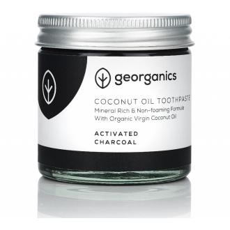 Georganics BIO zubní pasta s kokosovým olejem a aktivním uhlím