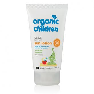 Green People Bio přírodní dětské opalovací mléko SPF 30 150ml