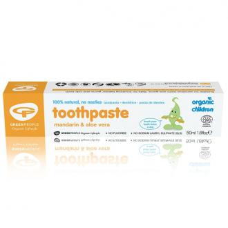 Green People dětská bio zubní pasta Mandarinka 50ml