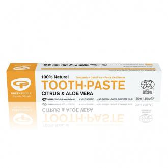 Green People Přírodní zubní pasta Aloe Vera&Citrus 50ml