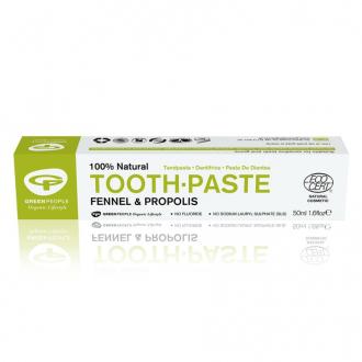 Green People Přírodní zubní pasta Fenykl a Propolis 50ml