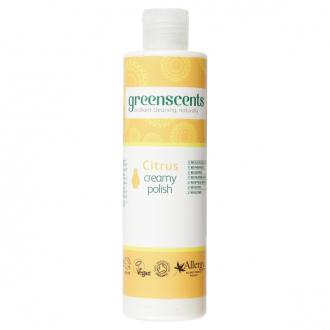 70% SLEVA EXPIRACE Greenscents leštidlo na dřevo a kůži citrus BIO 300ml