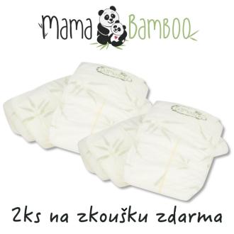 2x vzorek zdarma - Mama Bamboo dětské pleny - vyberte velikost