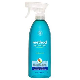 METHOD netoxický čistič koupelen, odstraňovač vodního kamene 830ml