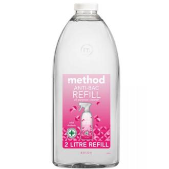 Method univerzální antibakteriální čistič rebarbora náhradní náplň 2l