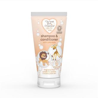 Mumma Love bio dětský šampon a kondicionér