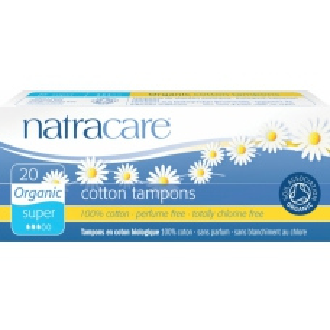 Natracare dámské tampóny Super 20ks