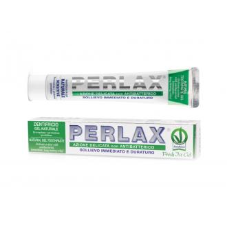 PERLAX přírodní rodinný zubní gel na citlivé zuby s Aloe Vera  - Profi Line 75ml