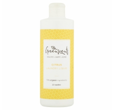 Greenscents prací gel citrus 17 dávek BIO