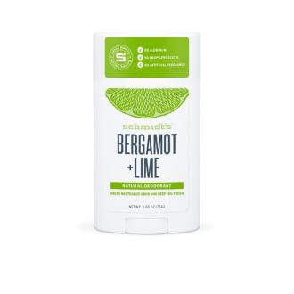 Schmidt Bergamot + Lime deo stick 75g