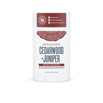 Schmidt Cedarwood + Juniper deo stick 75g