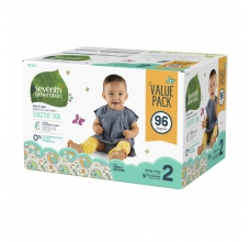 SEVENTH Generation pleny Mini 2 - 96 ks Megapack (5 - 8 kg) HYPOALERGENNÍ