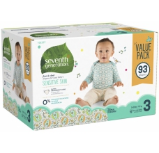 Seventh Generation pleny 93 Ks Midi 3 (7 - 11 Kg) MEGAPACK - HYPOALERGENNÍ