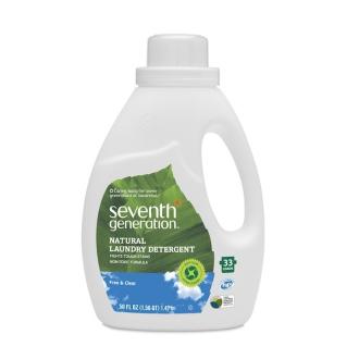 """SEVENTH Přírodní """"Sensitive"""" prací gel bez parfemace 33 dávek"""