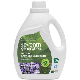 XL balení: SEVENTH Přírodní gel na praní 2x konc. Levandule 66 dávek
