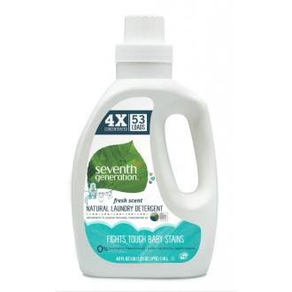 SEVENTH přírodní dětský prací gel 53 dávek - Sensitive HA