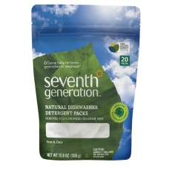 SEVENTH Přírodní kapsle do myčky Sensitive BEZ PARFEMACE 20ks