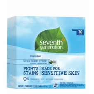 SEVENTH Přírodní prášek na praní bez parfemace 70 dávek SENSITIVE HA