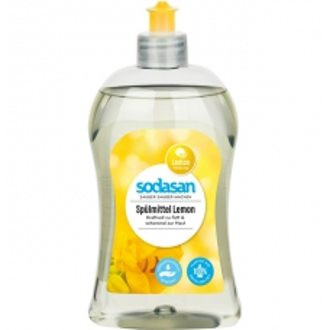 Sodasan prostředek na nádobí citron 500ml