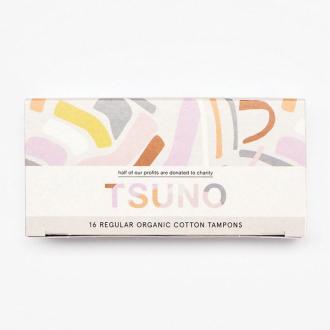 Tsuno BIO bavlněné tampony Classic (Regular)16ks