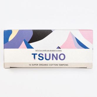 Tsuno BIO bavlněné tampony Plus (Super) 16ks