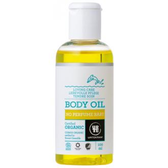 Urtekram dětský olej bez parfemace BIO 100ml
