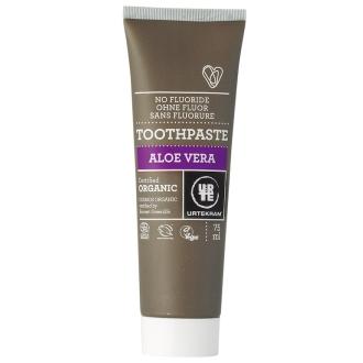 Urtekram nepěnivá zubní pasta aloe vera BIO 75ml