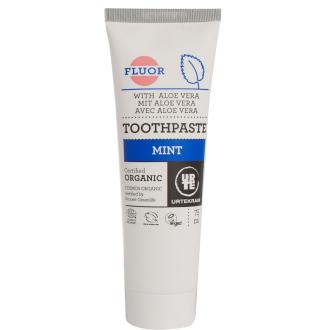Urtekram Zubní pasta máta s fluorem BIO 75 ml