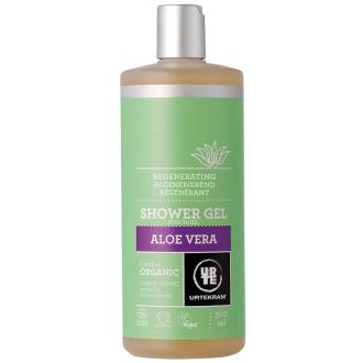 Urtekram sprchový gel s pravou Aloe Vera MAXI 500ml BIO