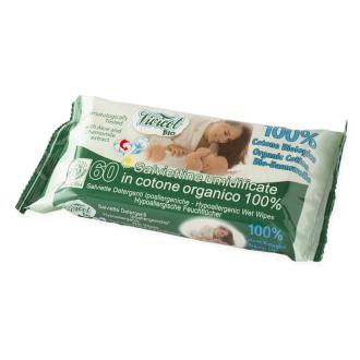 Vivicot dětské ubrousky 100% BIO bavlna - hypoalergenní 60ks
