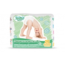 Vivicot Natural pleny Junior 15 - 22kg Hypoalergenní 20ks