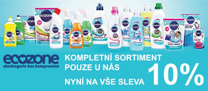 BioDrogerie.cz - Sleva Ecozone 10